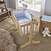Clair de Lune 2pc Crib Bedding Set (Speckles Blue)