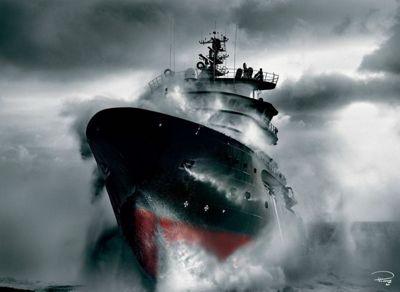 Rescue at Sea - 1000pc Puzzle