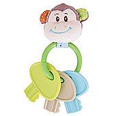 Bigjigs Toys Cheeky Monkey Key Rattle