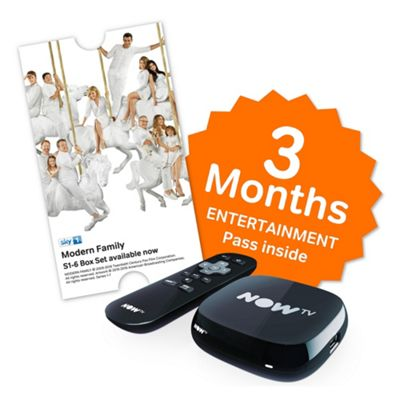 Buy NOW TV Box with Sky Entertainment 3 Month Pass from our