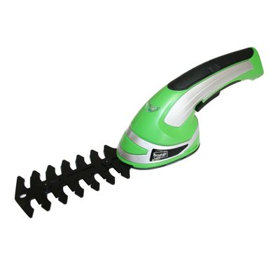 Charles Bentley 3.6V Cordless 2-in-1 Grass Cutter & Hedge Trimmer