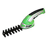 Bentley Garden 3.6V Cordless 2-in-1 Grass Cutter & Hedge Trimmer