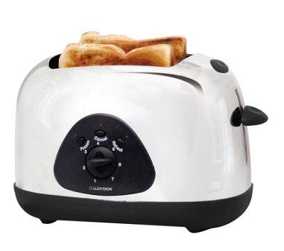 Lloytron 2 slice Toaster - White
