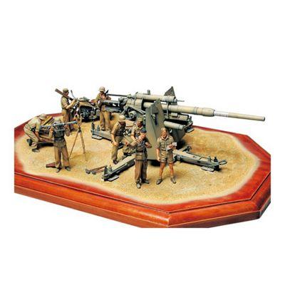 German 88mm Gun Flak 36 - North African Campaign - 1:35 Scale Military - Tamiya