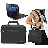 """11.6"""" Black Laptop Bag For The ACER R3-131T"""