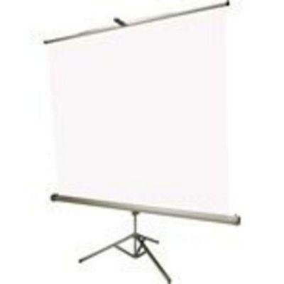 Euroscreen Tripod Connect 180cm x 180cm Projection Screen - White