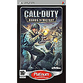 Call of Duty 3 - Roads to Victory - PSP