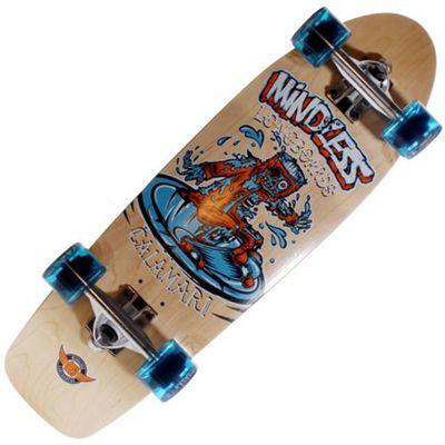 Mindless Longboards ML5510 Calamari Complete Old Skool Skateboard - Natural