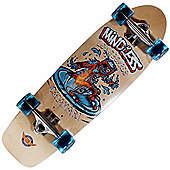 Mindless Longboards ML5510 Calamari Complete Old Skool Skateboard - Natural