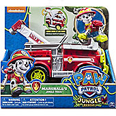 Paw Patrol Marshall Jungle Truck with Pup - Spinmaster