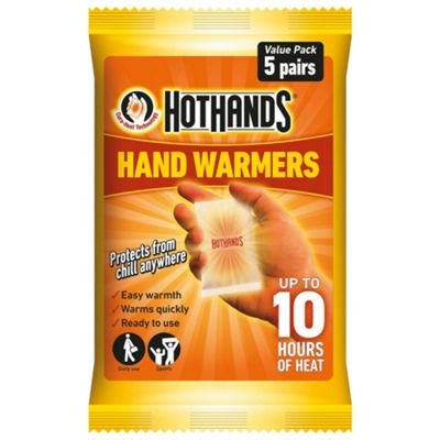 Hot Hands Hand Warmers, 5 Pairs