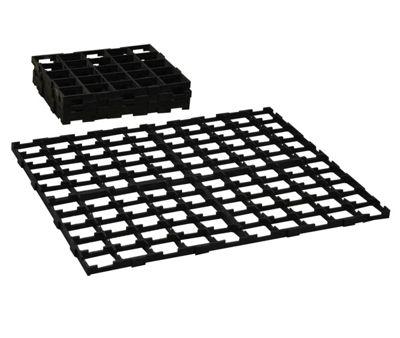 Interlocking Growbag Mat for Improved Drainage (Set of 8)