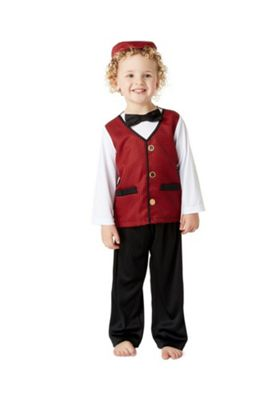 F&F Traditional Welsh Boy St. David's Day Costume Multi 1-2 years