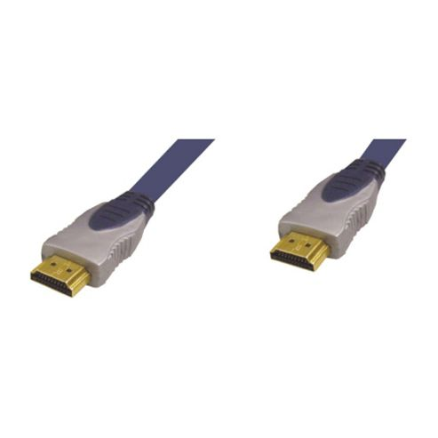 Nikkai HDMI To HDMI High-Speed AV Lead Cable Gold 3M