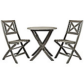 Charles Bentley Isla Hardwood Bistro Set