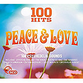 VARIOUS 100 Hits - Peace & Love (5CD)