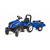 New Holland T6 Tractor and Trailer