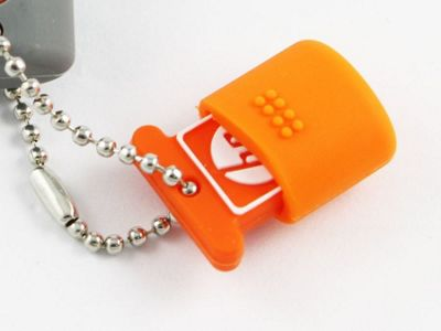HP V245O 16 GB USB Flash Drive - Orange