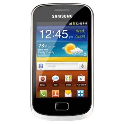 Unlocked Samsung Galaxy Mini 2 Yellow -SIM Free