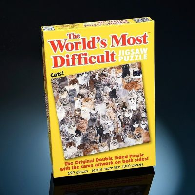 Worlds Most Difficult - Cats - 529pc Puzzle