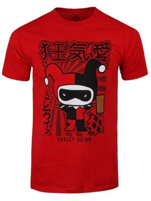 Harley Quinn Chibi Red Men's T-shirt