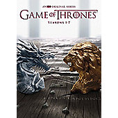 Game Of Thrones Seasons 1-7 DVD