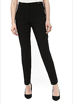 Wallis Luxe Trousers - Black