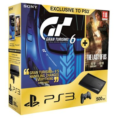 PS3 500gb Inc. GT6 and The Last Of Us