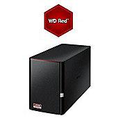 Buffalo LS520D/8TB-RED Linkstation 520 2-Bay 8TB(2x4TB WD RED) Consumer NAS
