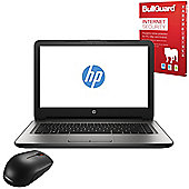 "HP 14-an008na 14"" Laptop AMD A8-7410 Quad Core 8GB 1TB Win10 with Internet Secuirty & Mouse - X3M01EA#ABU"