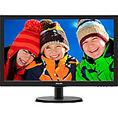 "Philips V-line 223V5LHSB 54.6 cm (21.5"") LED Monitor - 16:9 - 5 ms"