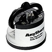 Anysharp Global World's Best Knife Sharpener, Silver
