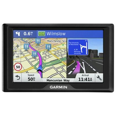 Garmin Drive 40LM Sat Nav with Free Lifetime Maps for Western Europe