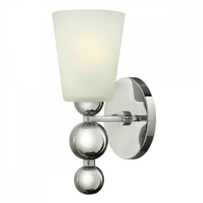 Polished Nickel 1lt Wall Light - 1 x 60W E27