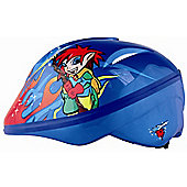 KIDZAMO BOYS BIKE HELMET JNR COBY 52-56 BLUE