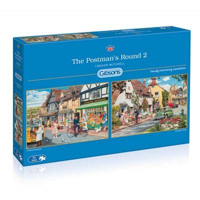 The Postmans Round - 2 x 500 piece Puzzle
