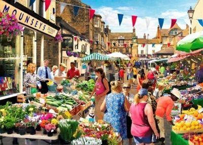 Street Market - 1000pc Puzzle