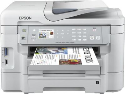Epson WorkForce WF-3530DTWF (A4) Colour Inkjet All-in-One Wireless Printer (Print/Copy/Scan/Fax) 6.3 Colour LCD 38ppm (Mono) 38ppm (Colour) 12000