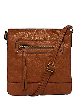 F&F Grained Cross-Body Bag