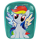 My Little Pony 'Rainbow Dash' Pvc Front School Bag Rucksack Backpack