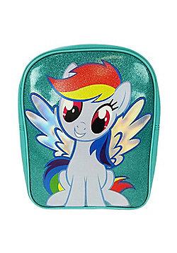 My Little Pony 'Rainbow Dash' Pvc Front School Bag Rucksack Backpack