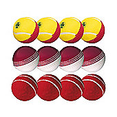 GM Ultimate Junior Cricket Bowling Ball Pack