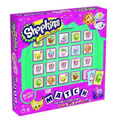 Shopkins Top Trumps Match Crazy Cube Game