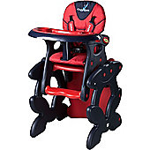 Caretero Primus 2 in 1 Highchair (Red)
