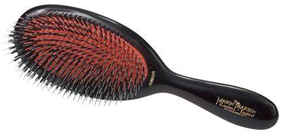 Mason Pearson BN2 Bristle and Nylon Junior Hair Brush - Dark Ruby