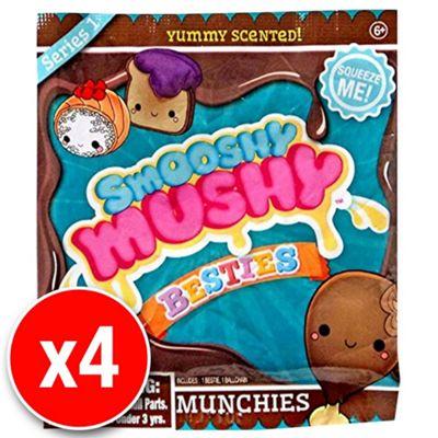 Smooshy Mushy Slow Rise Foam Besties - Munchies Blind Pack (4 packs supplied)