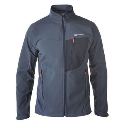 Berghaus Mens Ghlas Softshell Jacket Carbon M