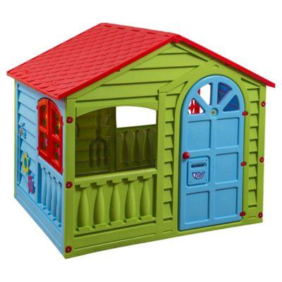 Tesco Plastic Playhouse