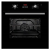 Cookology COF605BK | Unbranded Black Built-in or under Electric Single Fan Oven & Programmable Timer