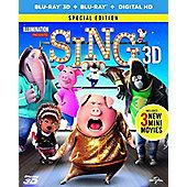 Sing (3D) 2D & 3D Blu-ray